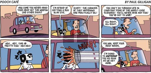 Pooch Cafe on Sunday January 22, 2012 Comic Strip
