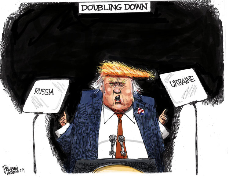 Steve Benson Comic Strip for May 13, 2019