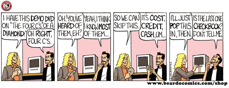 Beardo Comic Strip for August 11, 2019