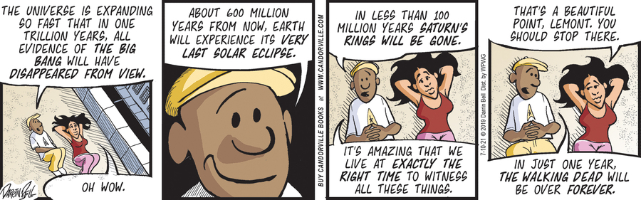 Candorville Comic Strip for July 10, 2021