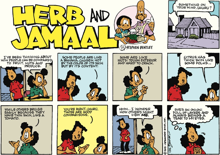 Herb and Jamaal by Stephen Bentley on Sun, 17 Oct 2021