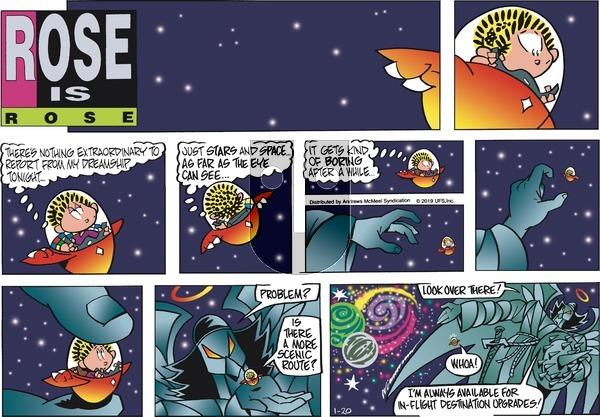 Rose is Rose - Sunday January 20, 2019 Comic Strip