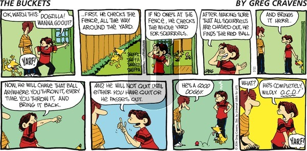 The Buckets on Sunday October 26, 2014 Comic Strip