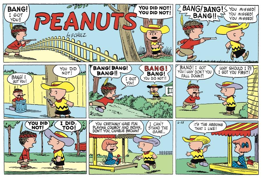 Peanuts Begins Comic Strip for June 26, 2021