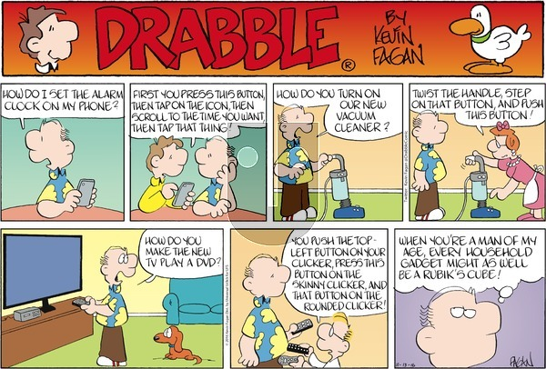 Drabble on Sunday November 13, 2016 Comic Strip
