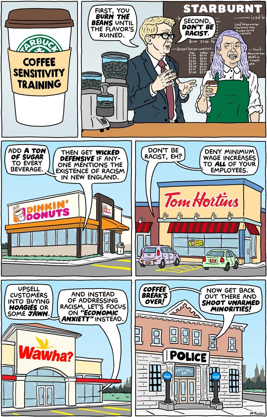 Brian McFadden Comic Strip for April 22, 2018