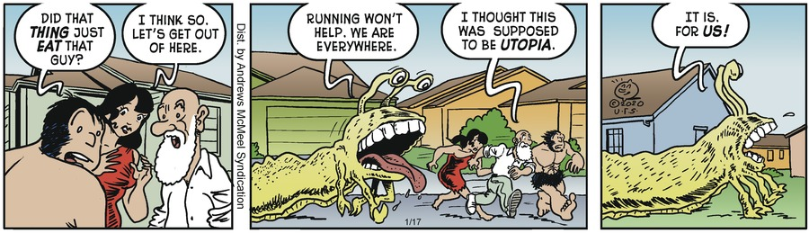 Alley Oop Comic Strip for January 17, 2020