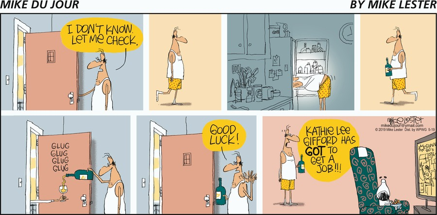 Mike du Jour by Mike Lester for May 19, 2019