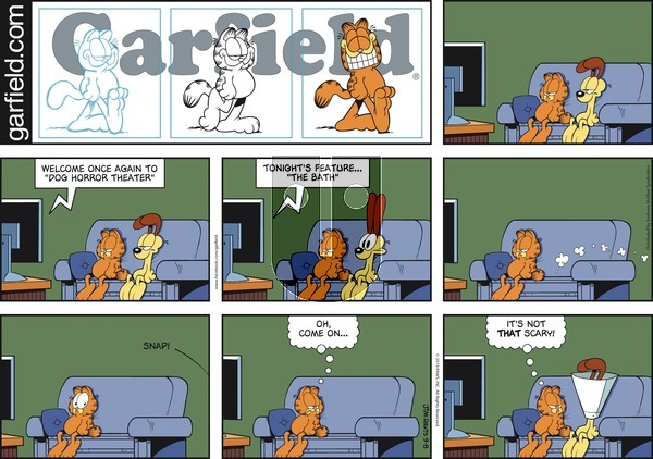 Garfield on Sunday September 8, 2019 Comic Strip
