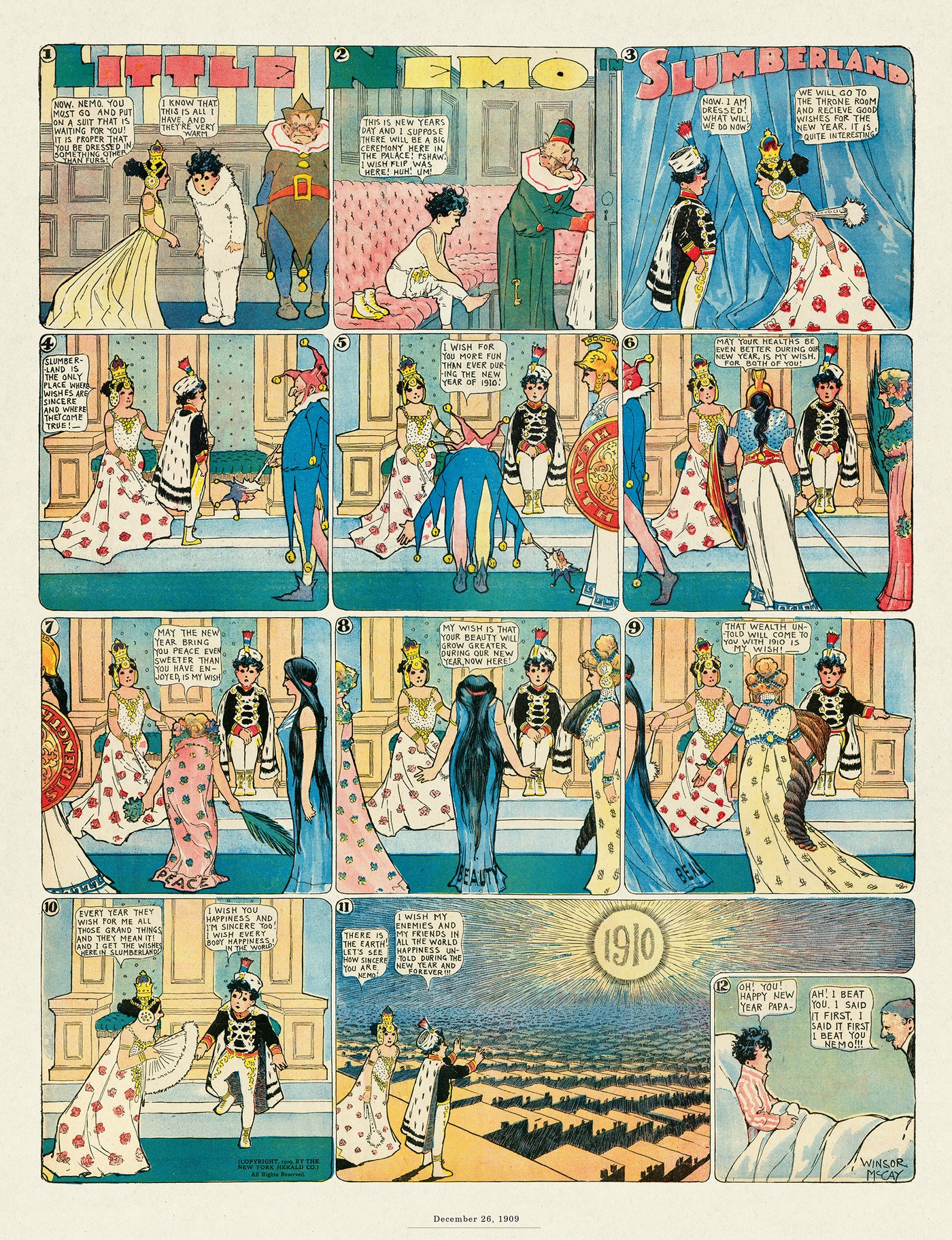 Little Nemo by Winsor McCay on Tue, 04 May 2021
