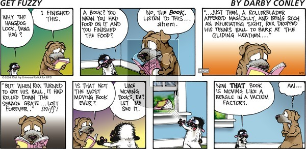 Get Fuzzy on Sunday June 21, 2015 Comic Strip
