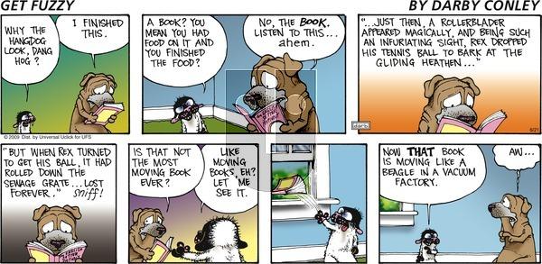 Get Fuzzy on Sunday June 21, 2015 Comic Strip