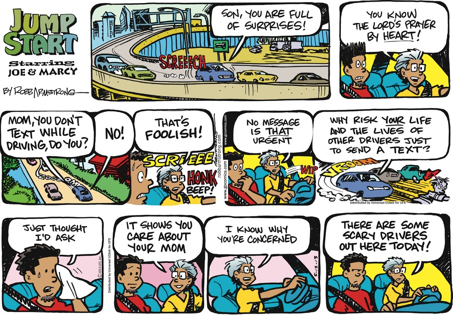 JumpStart for May 12, 2013 Comic Strip
