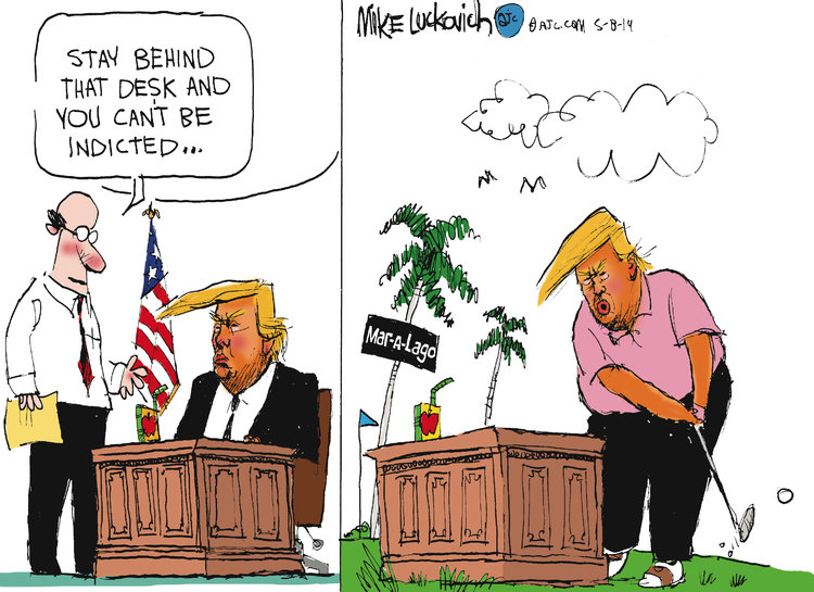 Mike Luckovich by Mike Luckovich for May 08, 2019