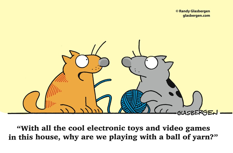 Glasbergen Cartoons by Randy Glasbergen for September 22, 2019