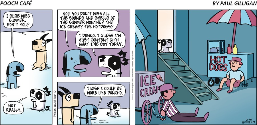 Pooch Cafe Comic Strip for February 16, 2020