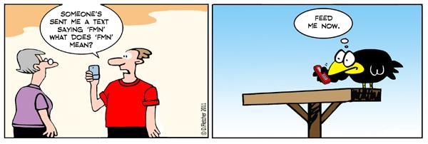 Crumb Comic Strip for January 28, 2011