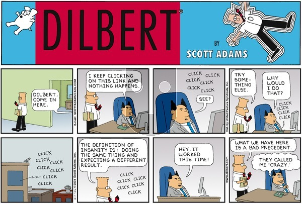 Dilbert - Sunday February 1, 2004 Comic Strip