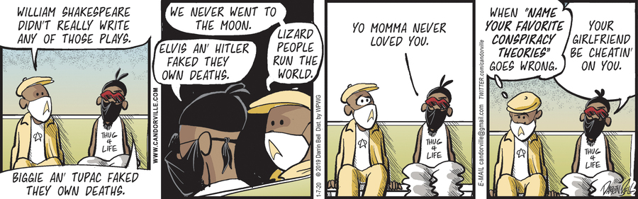 Candorville Comic Strip for January 07, 2021