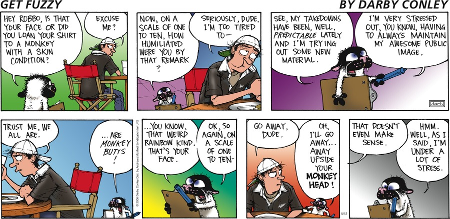 Get Fuzzy by Darby Conley for May 12, 2019