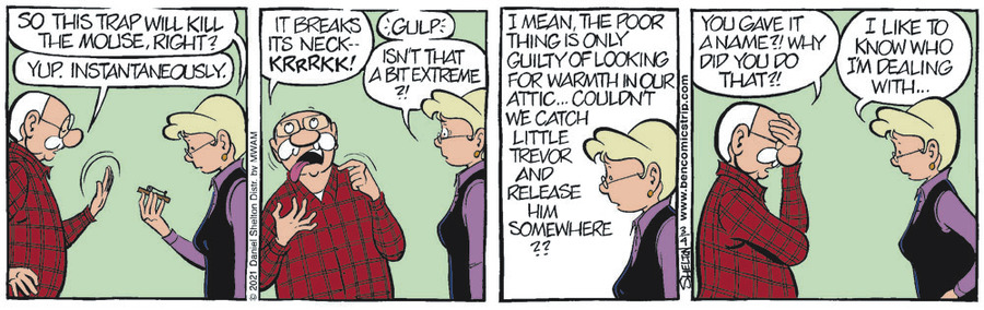 Ben Comic Strip for March 04, 2021