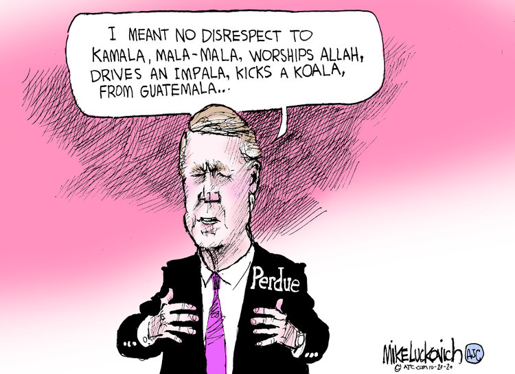 Mike Luckovich Comic Strip for October 20, 2020