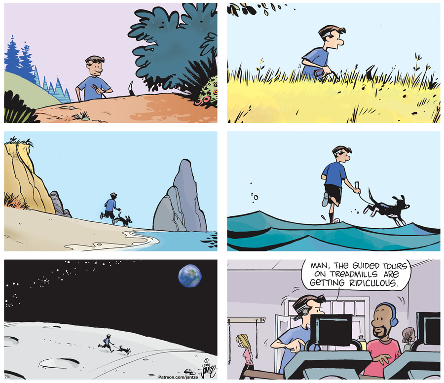 The Norm 4.0 Comic Strip for September 16, 2019