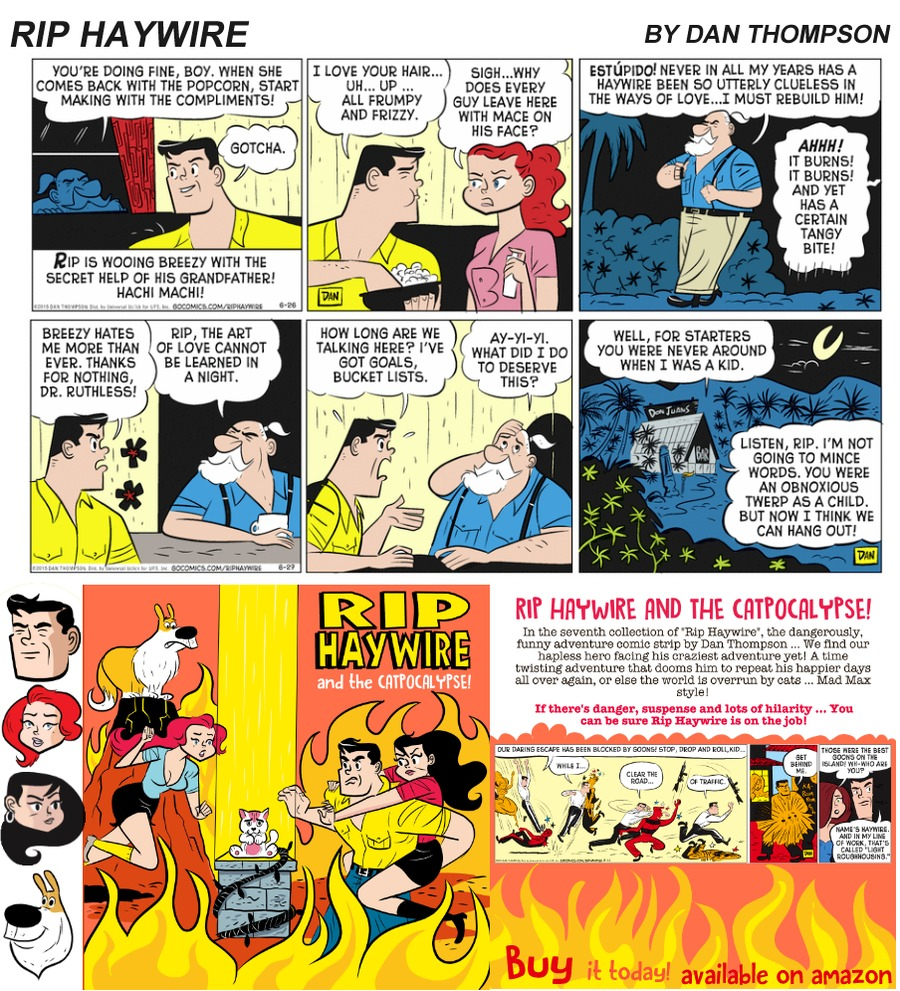 Rip Haywire Comic Strip for September 17, 2017