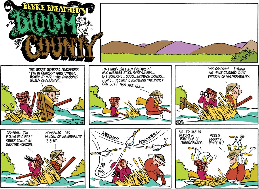 Bloom County Comic Strip for July 07, 2017
