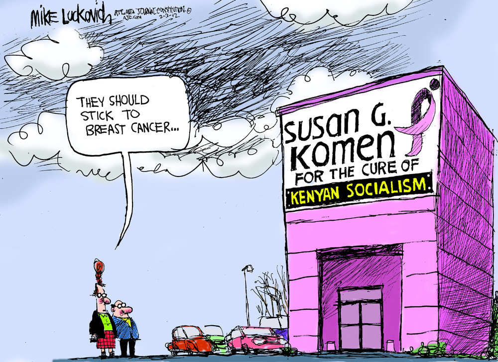 Mike Luckovich Comic Strip for February 03, 2012