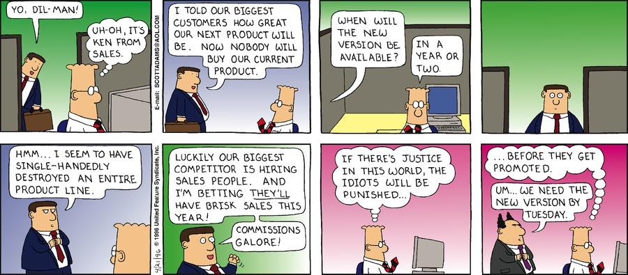 Dilbert Classics Comic Strip for March 22, 2020