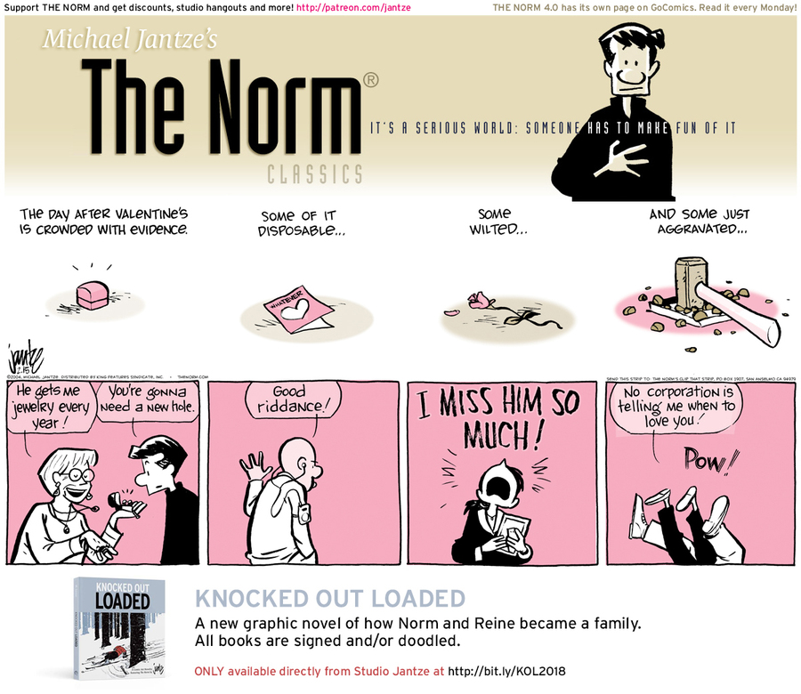 The Norm Classics Comic Strip for February 17, 2019