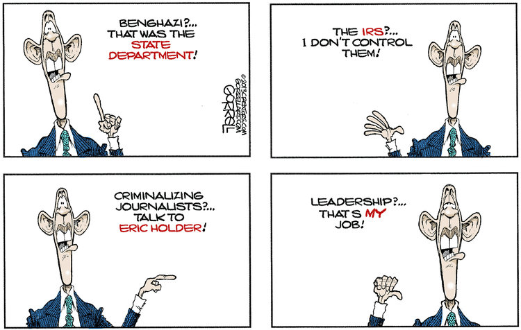 Bob Gorrell for May 31, 2013 Comic Strip