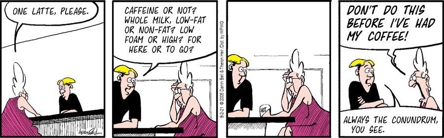 Rudy Park Comic Strip for August 02, 2021