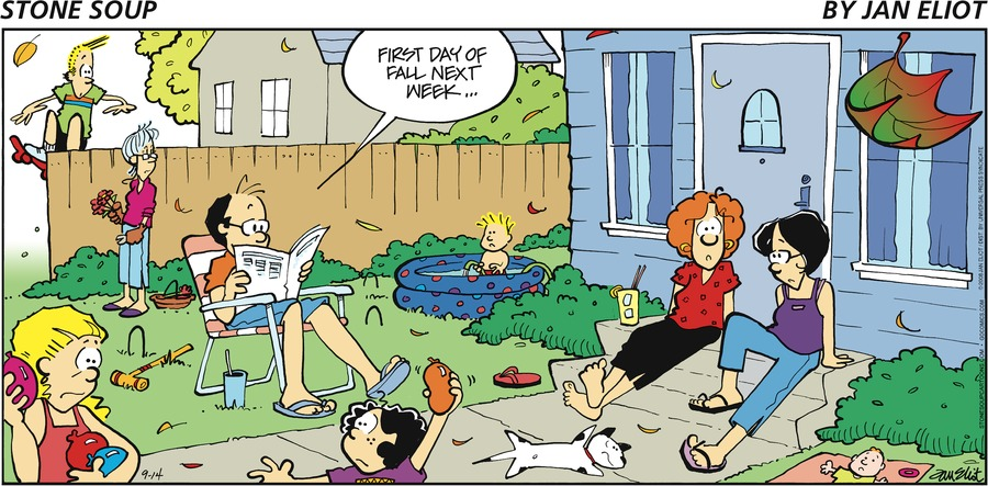 Stone Soup Comic Strip for September 14, 2008