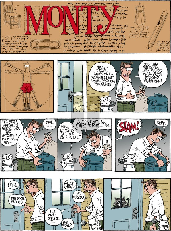 Monty on Sunday May 17, 2020 Comic Strip