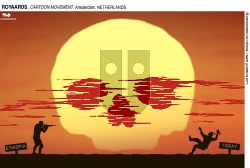 ViewsAfrica on Sunday April 4, 2021 Comic Strip