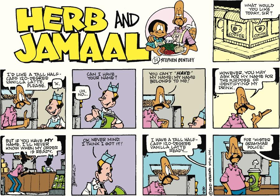 Herb and Jamaal by Stephen Bentley on Sun, 06 Jun 2021