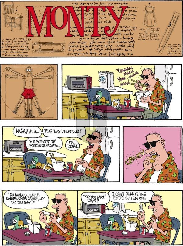 Monty - Sunday June 13, 2021 Comic Strip