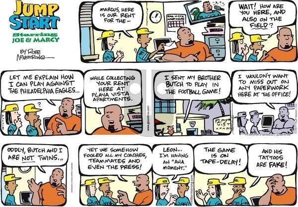 JumpStart on Sunday October 1, 2017 Comic Strip