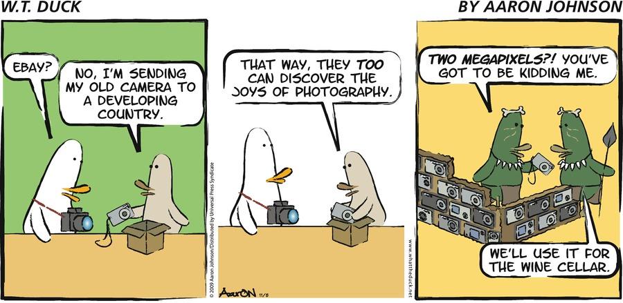 W.T. Duck for Nov 8, 2009 Comic Strip