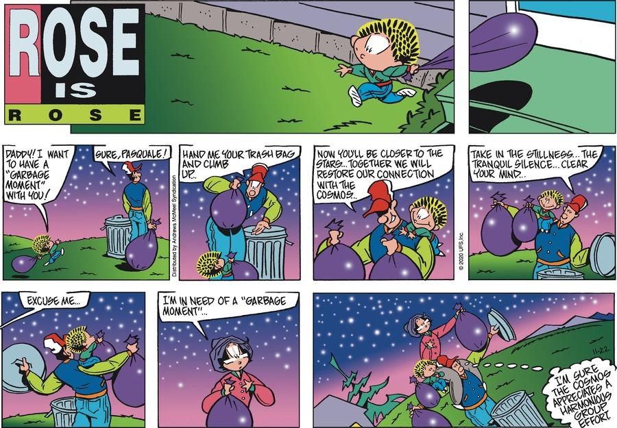 Rose is Rose Comic Strip for November 22, 2020