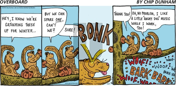 Overboard on October 7, 2018 Comic Strip