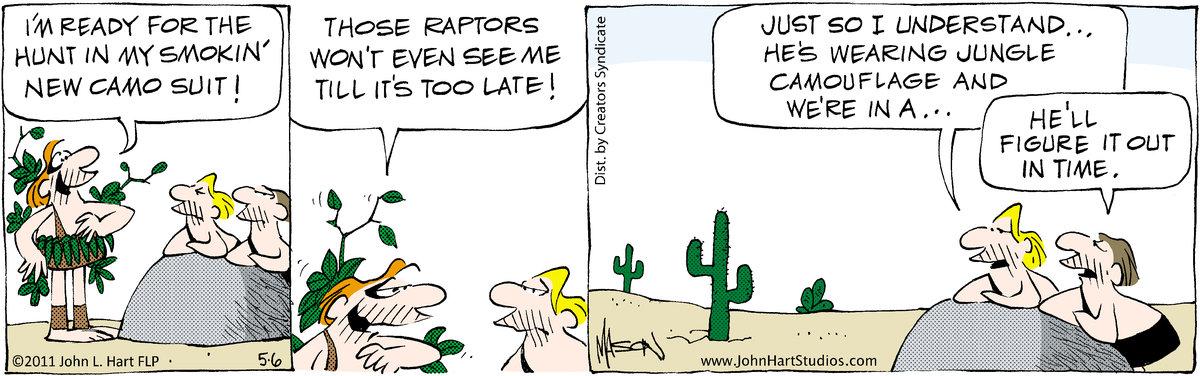 B.C. for May 6, 2011 Comic Strip