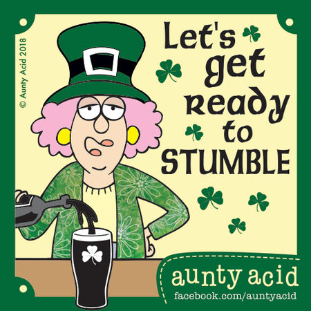 Aunty Acid Comic Strip for March 17, 2018