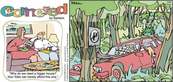 Cornered on Sunday August 25, 2002 Comic Strip