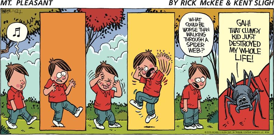 Mt. Pleasant  Comic Strip for September 26, 2021