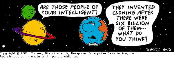 Frank and Ernest for Jun 16, 2001 Comic Strip