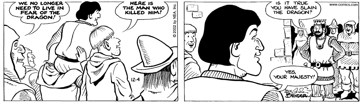 Alley Oop for Dec 4, 2002 Comic Strip