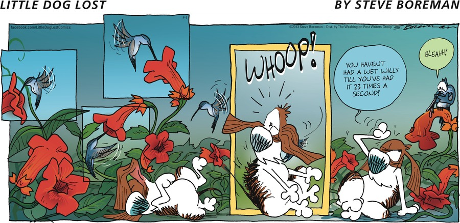 Little Dog Lost for Sep 1, 2013 Comic Strip